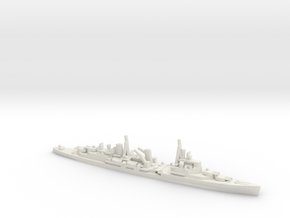 British Town-Class Cruiser in White Natural Versatile Plastic