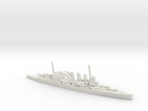 British County-Class Cruiser in White Natural Versatile Plastic