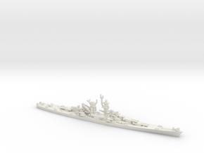 US Alaska-Class Large Cruiser in White Natural Versatile Plastic: 1:1800