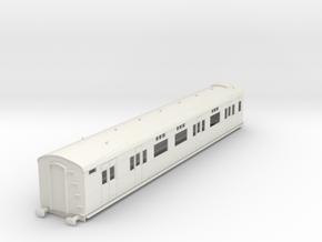 o-43-sr-d2654-gen-saloon-brake-coach in White Natural Versatile Plastic