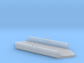 1/3000 Scale 1902 Bermuda Floating Dock in Smooth Fine Detail Plastic