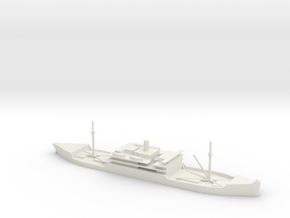 1/700 Scale 5100 ton steel cargo steamer Nanquitt in White Natural Versatile Plastic