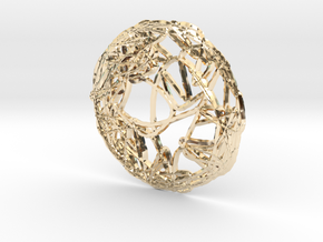 CHAOS e_ring_03 in 14K Yellow Gold: Small