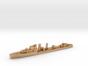 HMS Impulsive destroyer 1:1800 WW2 in Natural Bronze