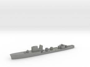 Italian Aldebaran torpedo boat 1:3000 WW2 in Gray PA12