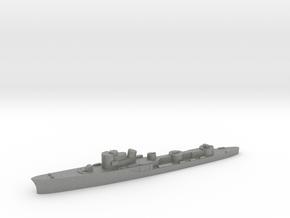Italian Uragano torpedo boat 1:3000 WW2 in Gray PA12