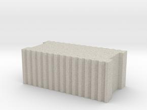 Ziegelstein / Brick 1:50 in Natural Sandstone