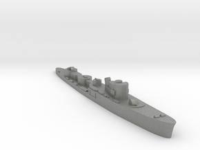 Italian Fortunale torpedo boat 1:1800 WW2 in Gray PA12