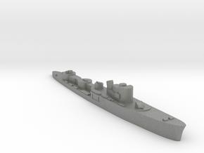 Italian Fortunale torpedo boat 1:2400 WW2 in Gray PA12