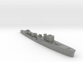 Italian Fortunale torpedo boat 1:3000 WW2 in Gray PA12