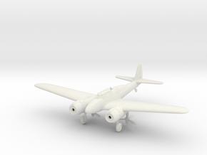 1/144 Nakajima J1N1 Gekko in White Natural Versatile Plastic