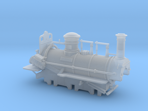 00 Scale Derwent Loco (fine-scale planking) in Smooth Fine Detail Plastic