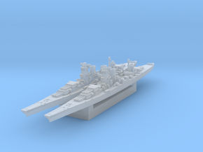 IJN Design B-65 Super Cruiser (Axis & Allies) in Smooth Fine Detail Plastic
