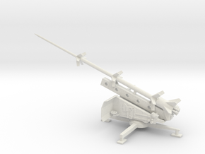 1/72 Scale German Missile Launcher RT-BI RHEINBOTE in White Natural Versatile Plastic