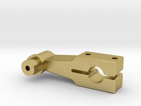 Gegenkurbel 12,3 mm in Natural Brass