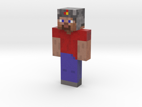 God | Minecraft toy in Natural Full Color Sandstone