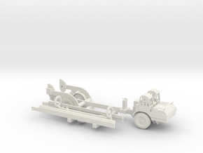 1/87 Scale MGM-5 Corporal Missile and Transporter in White Natural Versatile Plastic