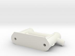 ASD3213 - beting achter in White Natural Versatile Plastic