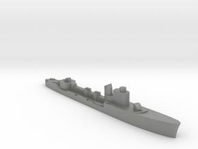 Italian Ariel torpedo boat 1:2400 WW2 in Gray PA12