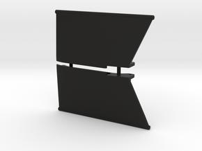 SCX24 Slider Set for Deadbolt in Black Natural Versatile Plastic