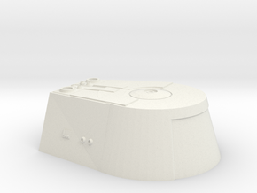 1:72 Travel Pod Top in White Natural Versatile Plastic
