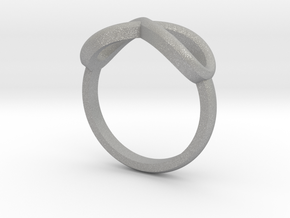 Simple infinity ring  in Aluminum