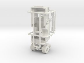 1/87 LACO Engine 51 body in White Natural Versatile Plastic