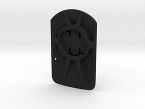 Wahoo Elemnt Roam to Garmin Adaptor - 10deg in Black Natural Versatile Plastic