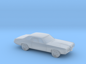 14 mm 1966-69 Mercury Cougar in Smooth Fine Detail Plastic