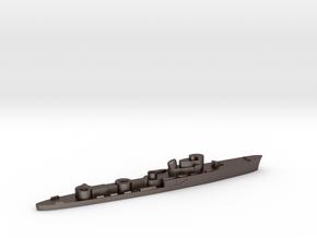 Italian Groppo torpedo boat 1:2400 WW2 in Polished Bronzed-Silver Steel