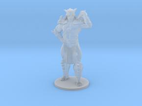 Mortal Kombat Shao Kahn DnD miniature 4 games rpg in Smooth Fine Detail Plastic