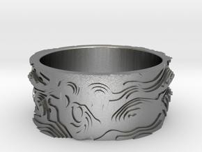Guri Maya Ring - Guri Bori - Mayan Ring in Natural Silver: 8 / 56.75