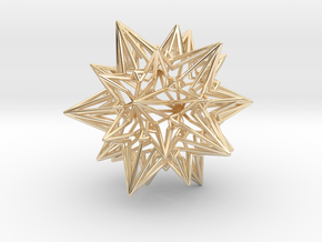 Divine Love Star - Meditation Object in 14K Yellow Gold