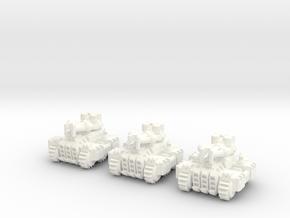6mm - Steam Lightning Tank in White Processed Versatile Plastic