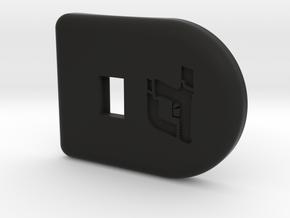 X Compact P320 Comfort Edge Base pad for SIG P320 in Black Premium Versatile Plastic