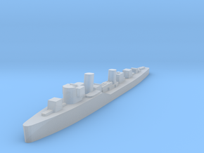 Soviet Tucha guard ship 1:3000 WW2 in Smoothest Fine Detail Plastic