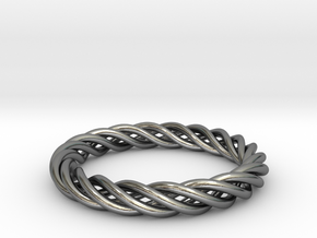 Textilis  in Polished Silver (Interlocking Parts): 5 / 49