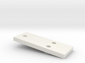 3mm CREEPER SPACER in White Natural Versatile Plastic