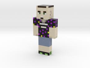 __warrior__PL | Minecraft toy in Natural Full Color Sandstone