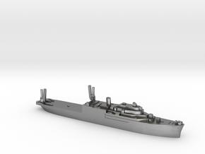 USS Currituck seaplane tender 1:3000 WW2 in Natural Silver