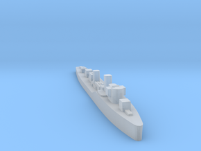 Soviet Purga guard ship 1:3000 WW2 in Smoothest Fine Detail Plastic