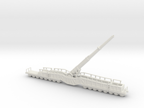 38 cm K E Kanone Eisenbahn 38cm Siegfried 1/200 u  in White Natural Versatile Plastic