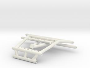 Skinny Yeti Cage Braces for Exotek in White Natural Versatile Plastic