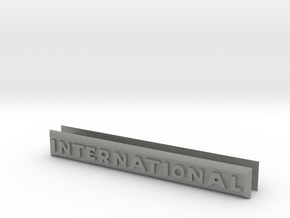 2 x International Badges for Gen 8 in Gray PA12