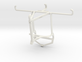 Controller mount for PS4 & T-Mobile Revvlry+ - Top in White Natural Versatile Plastic