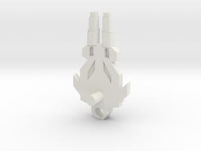 horrible bull gun in White Natural Versatile Plastic