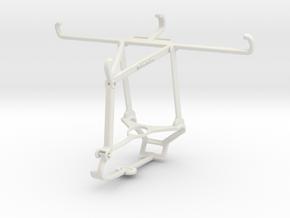 Controller mount for Steam & T-Mobile Revvlry+ - T in White Natural Versatile Plastic