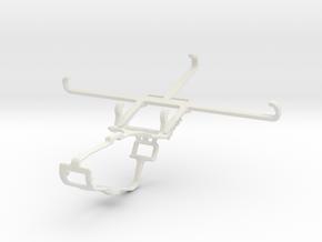 Controller mount for Xbox One & TECNO Phantom 9 in White Natural Versatile Plastic