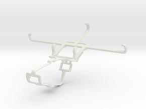 Controller mount for Xbox One & Xiaomi Mi A3 in White Natural Versatile Plastic