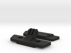 Saddle Rail to GoPro Mount in Black Natural Versatile Plastic